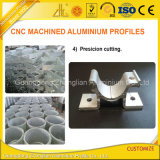Perfil de alumínio feito à máquina CNC da extrusão com estaca Process profunda da precisão