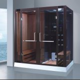Big Size 2000mm Rectangle Steam Combined Sauna avec douche (AT-8862)
