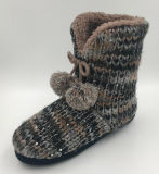 Ботинки теплого Pompom Knit Lds крытые