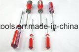 7 insieme del bit di cacciavite di PCS CRV con una maniglia di 3 colori