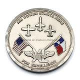 La aleación del cinc muere la moneda de los militares de las bases de las fuerzas aéreas de Casted