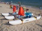 Bicicletas de agua Botes de pedal inflable de PVC Hydro Bikes Waterbird Water Bike