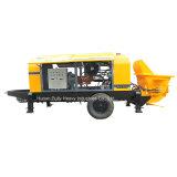 시간 전기 유압 피스톤 트레일러 구체 펌프 (HBT80.16.110S) 당 80 M3