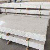 Pedra branca de pedra artificial quente de quartzo de Carrara para bancadas
