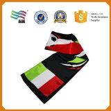 La publicité des écharpes de tricotage d'indicateur national de pays pour le jour national