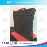 SMD 1r1g1b Miet-LED-Bildschirm, P4.81 druckgießende im Freien LED Aluminiumanschlagtafel