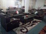 Sofá moderno do couro genuíno para a mobília do sofá da sala de visitas