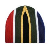 Sombrero colorido de la gorrita tejida de la raya vertical (JRK053)
