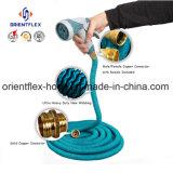 Flexible extensible flexible / tuyau de jardin extensible avec pistolet à pulvériser
