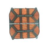 Serpentine di riscaldamento ovali superiori per il fornello di induzione