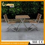 Conjunto de aluminio del vector de la silla de plegamiento del polvo al aire libre de los muebles de la cerveza del café del ocio que pinta (con vaporizador)