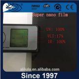 Zon die de Glasheldere Nano Film van de Tint van het Venster in de schaduw stellen
