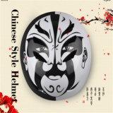 2017 casco colorido de moda caliente de la bicicleta del trazador de líneas del ABS Shell+EPS de la ópera de Pekín del estilo chino de la venta