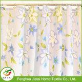 Set di tende da bagno in tessuto di tessuto in poliestere floreale poco costoso