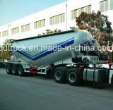 de colle 45m3 de silo de camion-citerne remorque en bloc de camion semi (HTC9405GFL)