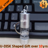 Outstanding Crystal Promotion Cadeaux Round Bottle Luminous USB (YT-3270-08)