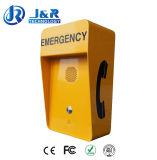 Teléfonos SIP carretera, autopista de teléfono de emergencia, robusto teléfono VoIP
