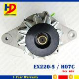 Ex200-5 H07c de Alternator van de Uitrusting van de Dieselmotor voor 60A