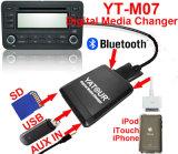 De Adapter van de Muziek van de Radio van de auto voor Honda/Toyota/Mazda/Nissan Yatour yt-M07