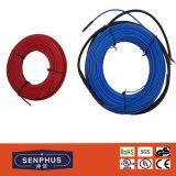Câble électrique de chauffage par le sol de jupe de PVC/Teflon
