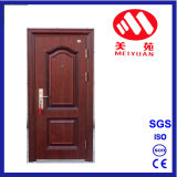 Porte d'entrée en acier de luxe de garantie de maison de rapport de Villa&