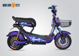 48V 20ah Battery Electric Motor Scooter mit Front Basket Alarm
