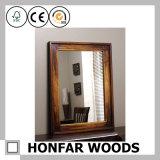 كلاسيكيّة خشبيّة إطار مرآة إطار لأنّ غرفة حمّام