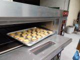 판매 Hongling 최신 상표 세륨을%s 가진 단 하나 갑판 가스 피자 오븐