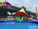 Park van het Water van het Park van het Water van de slak het Opblaasbare met Grote Pool