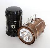 Lanterne campante compressible légère campante classique en gros du type 6 DEL de Ningbo