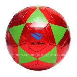 カスタム光沢があるPVCサイズ5大きさの4 3サッカーボール