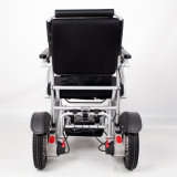 Iluminar ultra toda a cadeira de rodas elétrica de alumínio do terreno com bateria de lítio