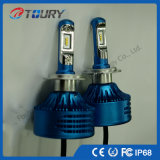Fanless LED Car Light H4 H7 LED Ampoule avant