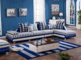 Tela clásico sofá de la sala de madera Marco Sofá (HX-SL010)