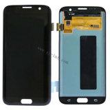 Schermo di tocco del telefono mobile per la visualizzazione dell'affissione a cristalli liquidi di Samsung S7edge