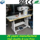 Máquina de costura industrial computarizada do Lockstitch da alimentação do rolo da base lisa