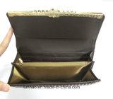 빛나는 PU 숙녀의 지갑을 돋을새김하십시오 Fashion Wallet/New Women