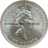 Manufaktur-kundenspezifische Metallandenken-Goldmünze