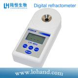 El refractómetro portable de Digitaces con alta exactitud puede probar el azúcar
