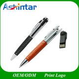 Lecteur flash USB imperméable à l'eau de crayon lecteur de clé de mémoire USB