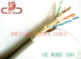 Câble extérieur d'ordinateur de câble du câble UTP de transmission de réseau de Ftpcat5e 24AWG/Cable