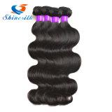 最もよいペルーのバージンの毛ボディ波加工されていないペルーボディ波のバージンの毛4束の人間の毛髪の織り方のペルーの毛の束