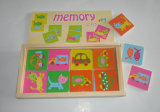 brinquedos de madeira do jogo da memória 32PCS para miúdos