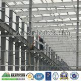 Полуфабрикат домашнее здание Workshp стальной структуры или пакгауз