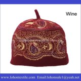 Material muçulmano clássico da tela de lãs do chapéu da alta qualidade da forma