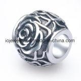 Commercio all'ingrosso del branello del fiore dei monili del branello dell'acciaio inossidabile della Rosa
