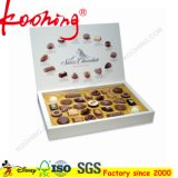 10 Pocket Decorative Luxury Valentine Gift Packaging Boîte en chocolat en carton en papier Boîte en chocolat