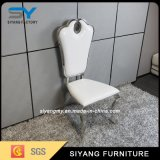 Esszimmer-Möbel-Leder-Edelstahl, der Stuhl speist