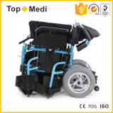 Batería de litio plegable Silla de ruedas motorizada eléctrica