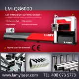 Tubo Lamy metal Máquinas láser de fibra con CE corte